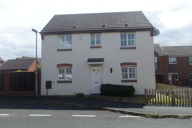 Thumbnail Detached house to rent in Saville Close, Wellington, Telford