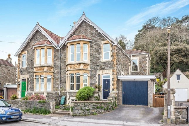 Thumbnail Semi-detached house for sale in Highdale Avenue, Clevedon