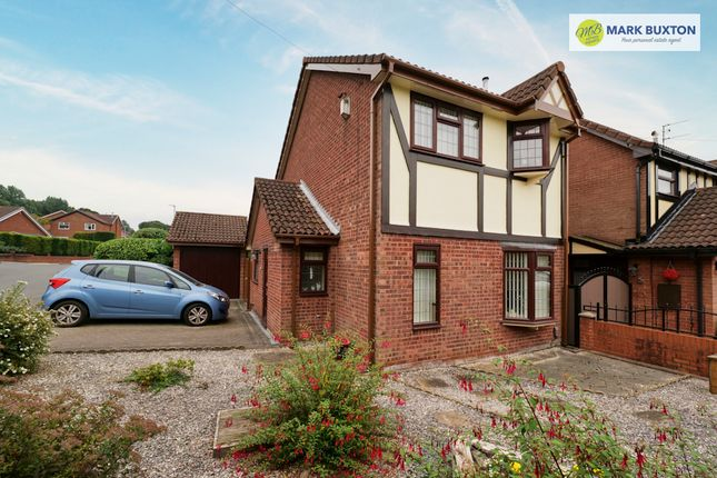 Thumbnail Detached house for sale in Castleton Road, Lightwood, Stoke On Trent