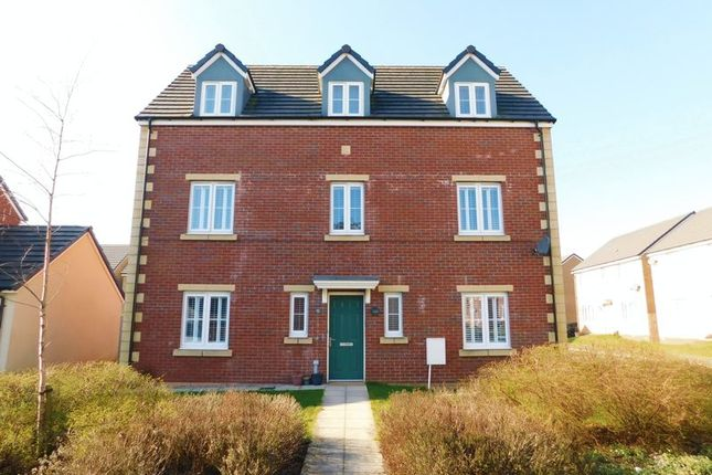 Thumbnail Detached house for sale in Meadowland Close, Caerphilly