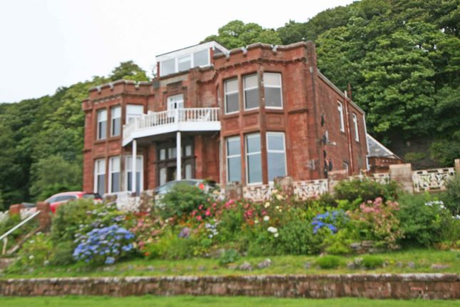 Thumbnail Flat for sale in Shore Road, Skelmorlie