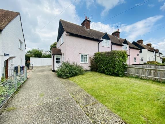 Thumbnail End terrace house for sale in North Avenue, Letchworth Garden City, Hertfordshire