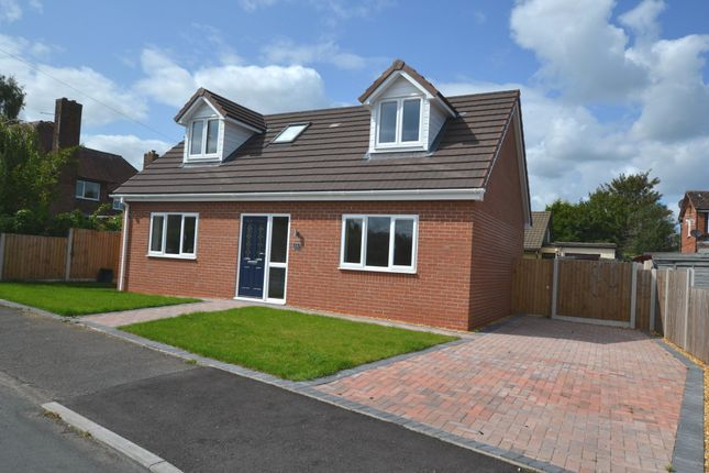 Thumbnail Detached bungalow for sale in Melrose Crescent, Market Drayton