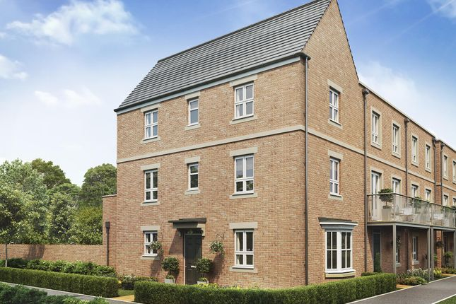 """Thumbnail Semi-detached house for sale in """"Atherton"""" at Fetlock Drive, Newbury"""