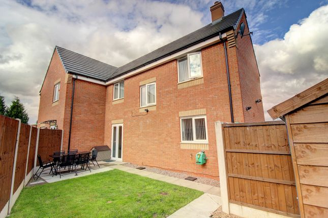 Rear View of Shropshire Close, Walsall WS2