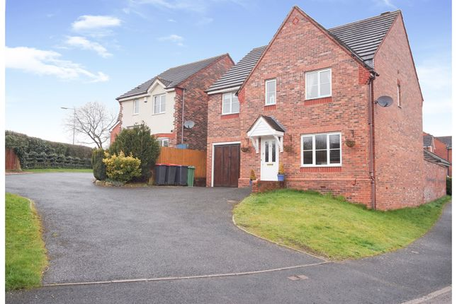 Thumbnail Detached house for sale in Ellis Peters Drive, Aquaduct Telford
