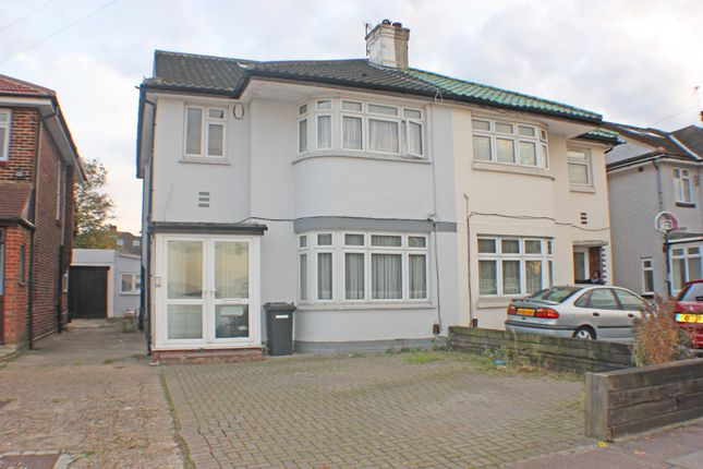 Thumbnail Semi-detached house for sale in Clayhall, Ilford