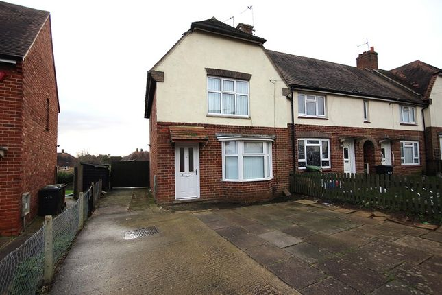 3 bed end terrace house to rent in Jubilee Crescent, Wellingborough, Northamptonshire. NN8
