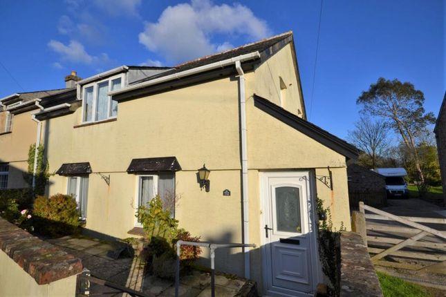 Thumbnail Semi-detached house for sale in Albaston Cottages, Albaston, Gunnislake, Cornwall