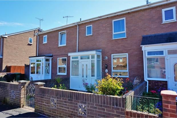 Thumbnail Terraced house to rent in Bishop Westall Road, Exeter