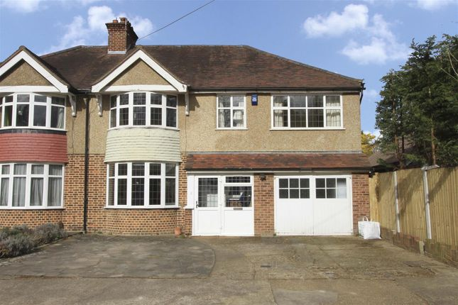 Thumbnail Semi-detached house for sale in Grove Close, Ickenham