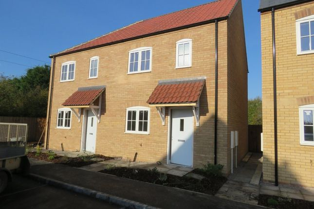 2 bed semi-detached house for sale in Abbots Way, Scothern, Lincoln
