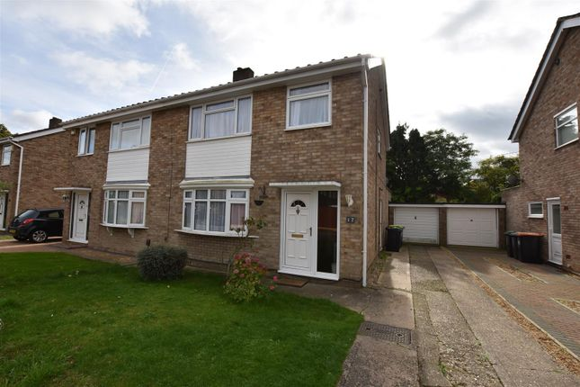 Thumbnail Semi-detached house to rent in Salcombe Close, Bedford