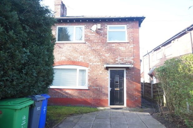 Thumbnail Semi-detached house to rent in Parrs Wood Road, Didsbury