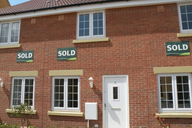 Thumbnail Terraced house to rent in The Sidings, Cranwell Village, Sleaford