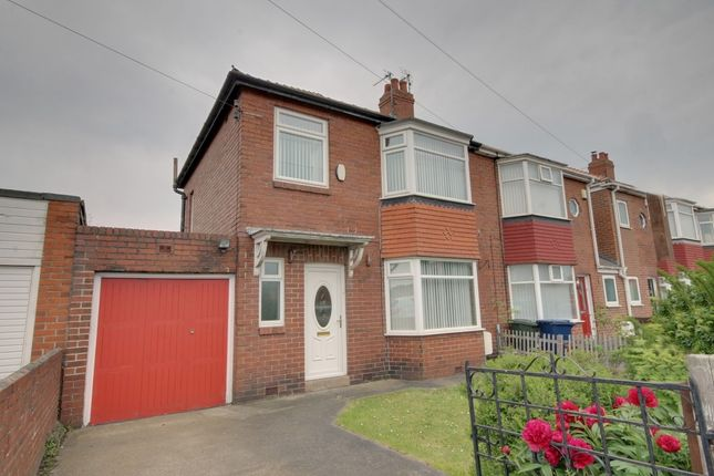 Thumbnail Semi-detached house for sale in Mill Hill Road, East Denton, Newcastle Upon Tyne