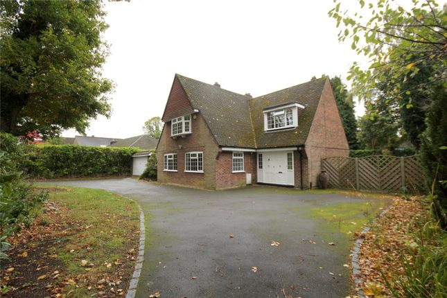 4 bed detached house to rent in Christchurch Road, Virginia Water, Surrey