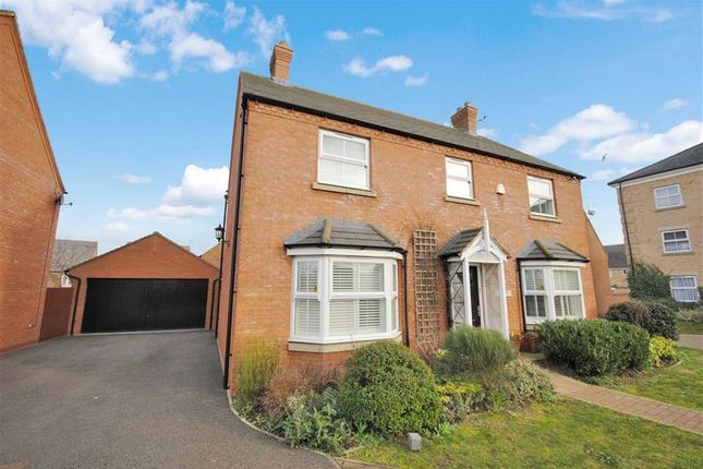 Thumbnail Detached house for sale in Plover Road, Leighton Buzzard