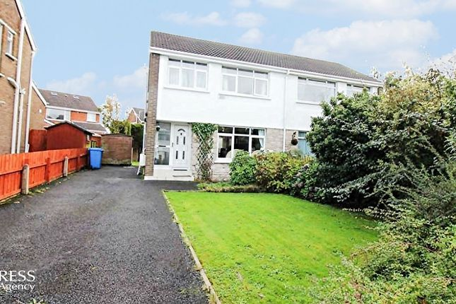 3 bed semi-detached house for sale in Aston Gardens, Bangor, County ...