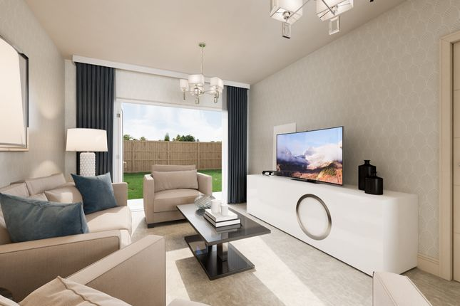 Living Room CGI of Cross Trees Park, Highworth Road, Shrivenham SN6