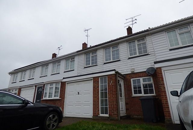 Thumbnail Terraced house to rent in Darrell Close, Broomfield, Chelmsford