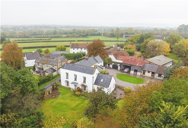 Thumbnail Detached house for sale in Stoughton Road, West Stoughton, Wedmore, Somerset