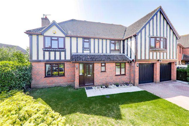 Thumbnail Detached house for sale in Burne-Jones Drive, College Town, Sandhurst, Berkshire