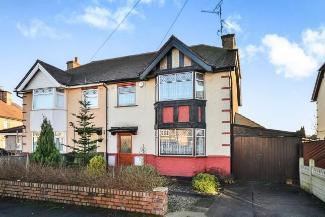Thumbnail Semi-detached house for sale in Lawrence Avenue, Kirkby-In-Ashfield, Nottingham, Notts