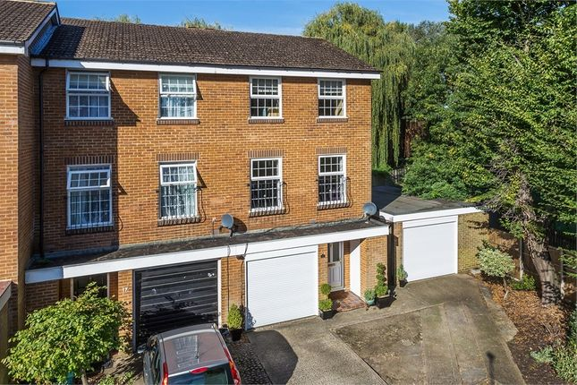 Thumbnail End terrace house to rent in Plover Close, Staines-Upon-Thames, Surrey