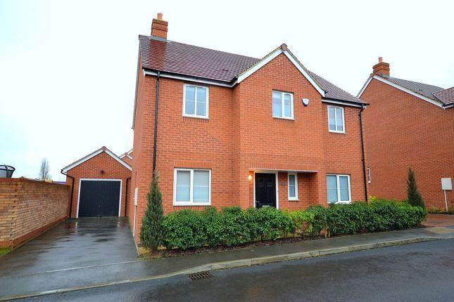 Thumbnail Detached house for sale in Ellis Way, Abington Vale, Northampton