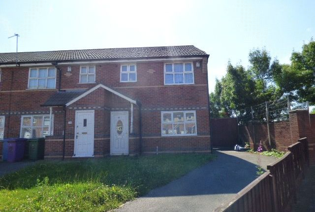 Thumbnail End terrace house for sale in Clearwater Close, Liverpool, Merseyside