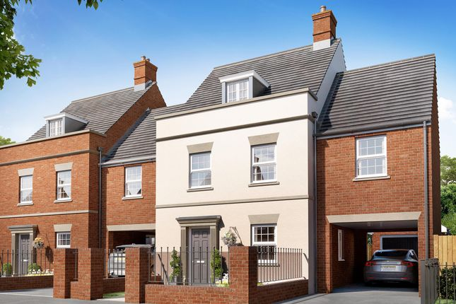 """4 bed terraced house for sale in """"The Appletree Link"""" at Heathencote, Towcester NN12"""