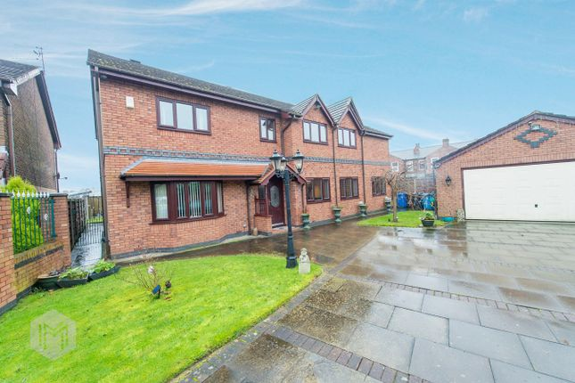 Thumbnail Detached house for sale in Shearwater Gardens, Eccles, Manchester