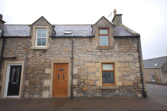 Thumbnail End terrace house to rent in James Street, Lossiemouth