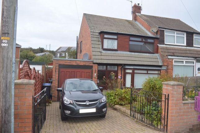 Thumbnail Semi-detached house for sale in 16 Ladywell Road, Tweedmouth, Berwick-Upon-Tweed