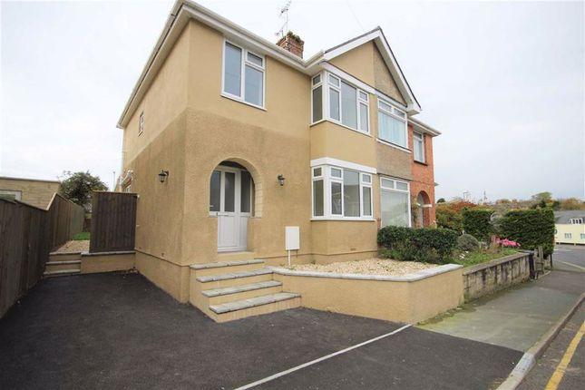 Thumbnail Semi-detached house for sale in Alington Road, Dorchester, Dorset