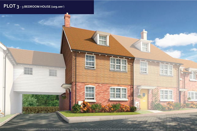 Thumbnail Link-detached house for sale in Maidstone Road, Headcorn, Ashford, Kent
