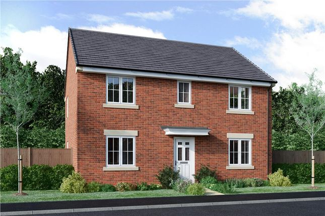 "Thumbnail Detached house for sale in ""Pendle"" at Bryning Lane, Warton, Preston"