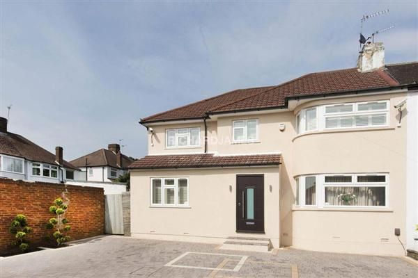 Thumbnail Semi-detached house for sale in Ridgemont Gardens, Edgware
