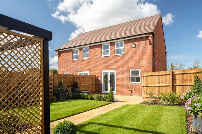 """End terrace house for sale in """"Archford"""" at Old Stowmarket Road, Woolpit, Bury St. Edmunds"""