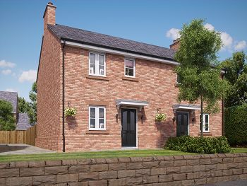 3 bed semi-detached house for sale in St. Wilfrids Court, Church Street, Davenham, Northwich