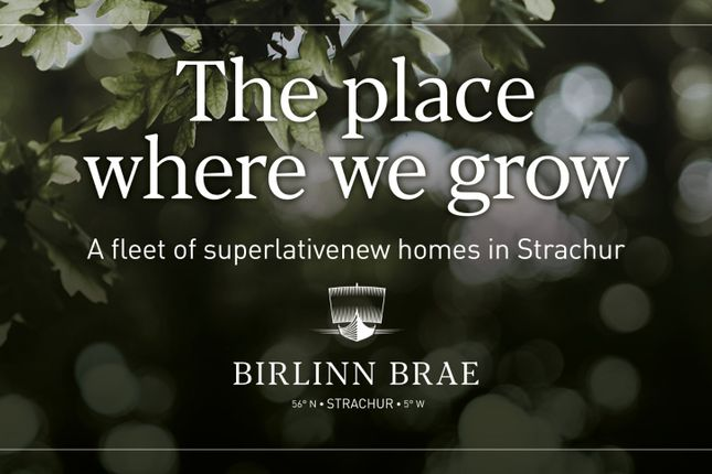 3 bed detached house for sale in Birlinn Brae At Strachur, The Bay, Strachur, Argyll PA27