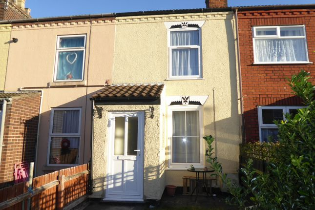 Thumbnail Terraced house to rent in Garfield Road, Great Yarmouth