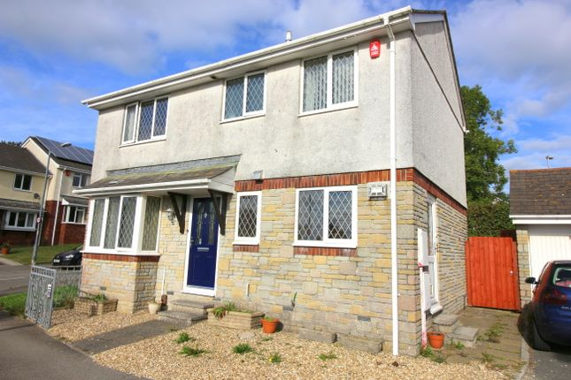 Thumbnail Detached house for sale in Snell Drive, Latchbrook, Saltash