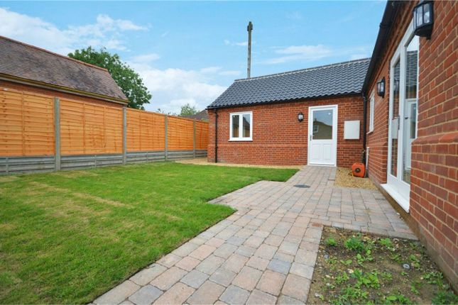 Thumbnail Detached bungalow for sale in New Road, Shipdham, Thetford