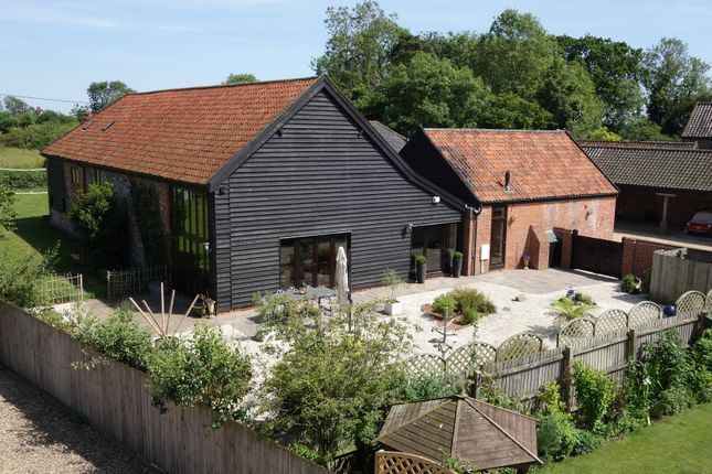 Thumbnail Barn conversion for sale in Bowbeck, Bardwell, Bury St. Edmunds