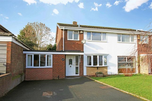Thumbnail Semi-detached house for sale in 13 Claverley Drive, Stirchley, Telford