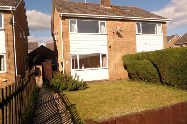 Thumbnail Semi-detached house to rent in Angiddy Close, Caldicot