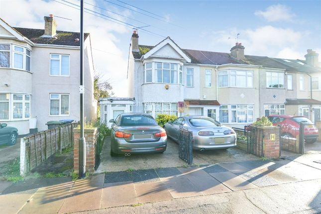 Thumbnail End terrace house for sale in Pembroke Avenue, Enfield, Middlesex
