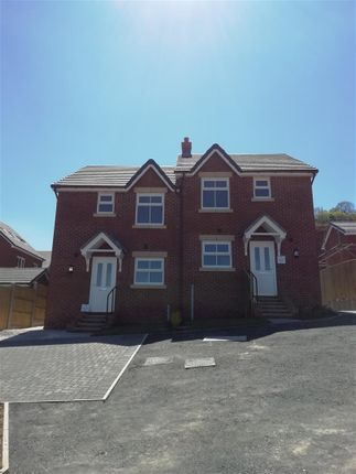 Thumbnail Semi-detached house to rent in Maes Helyg, Vicarage Road, Llangollen